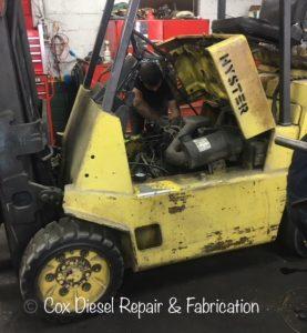 Repairing Shop Forklift
